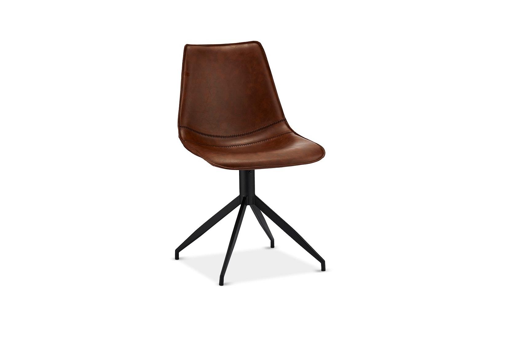 Designová židle Aaru, svetlohnědá