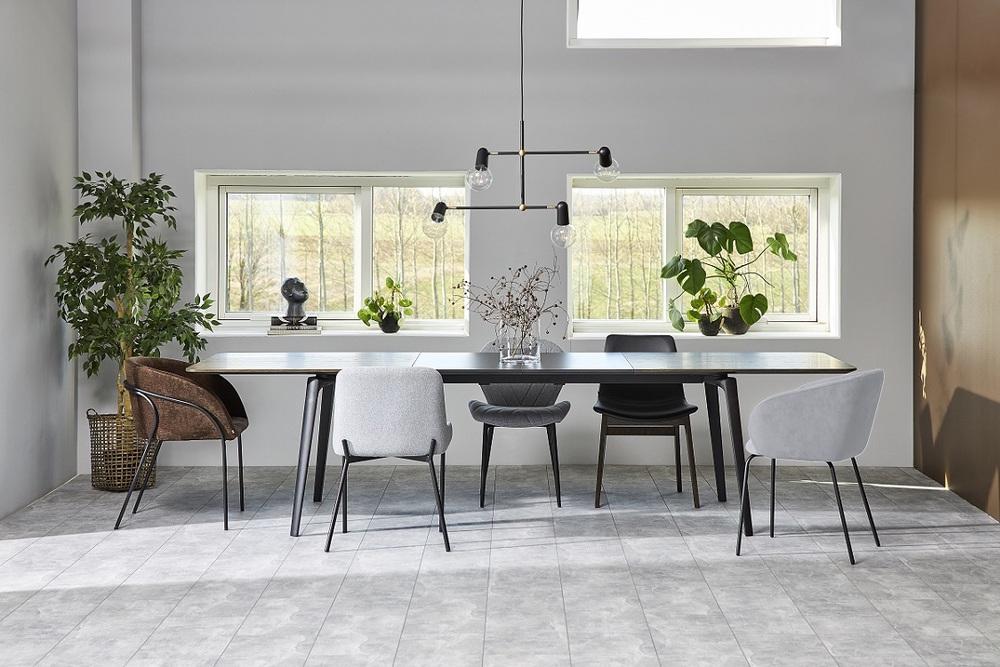 Designové židle Albee světlešedá