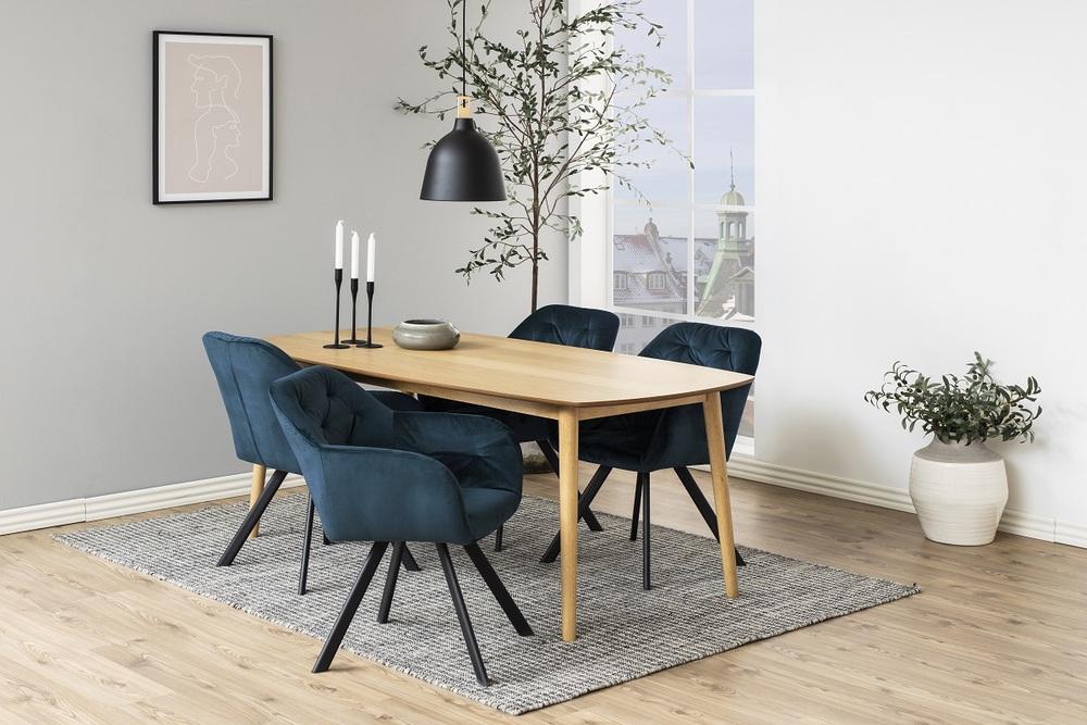 Designová židle Aletris tmavě modrá - otevřené balení