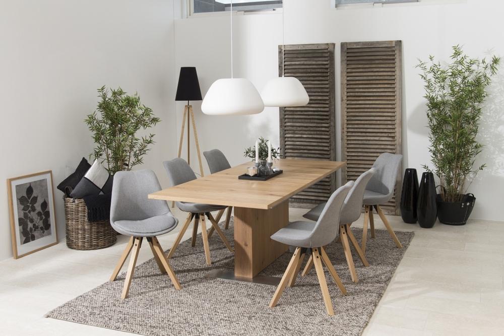 Designové židle Nascha světle šedá