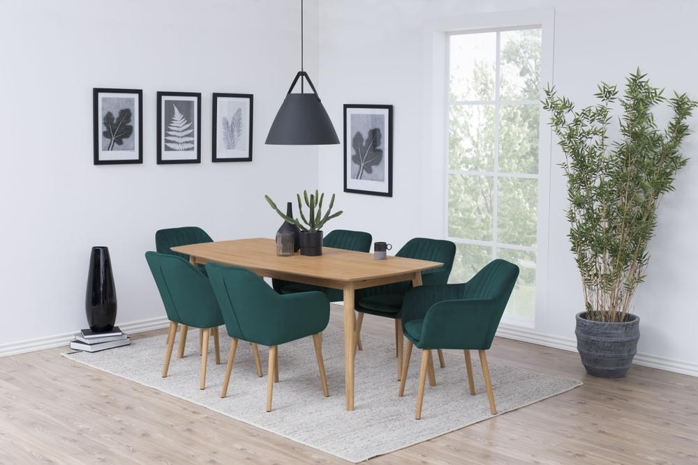 Designové židle Nashira lahvově zelená VIC