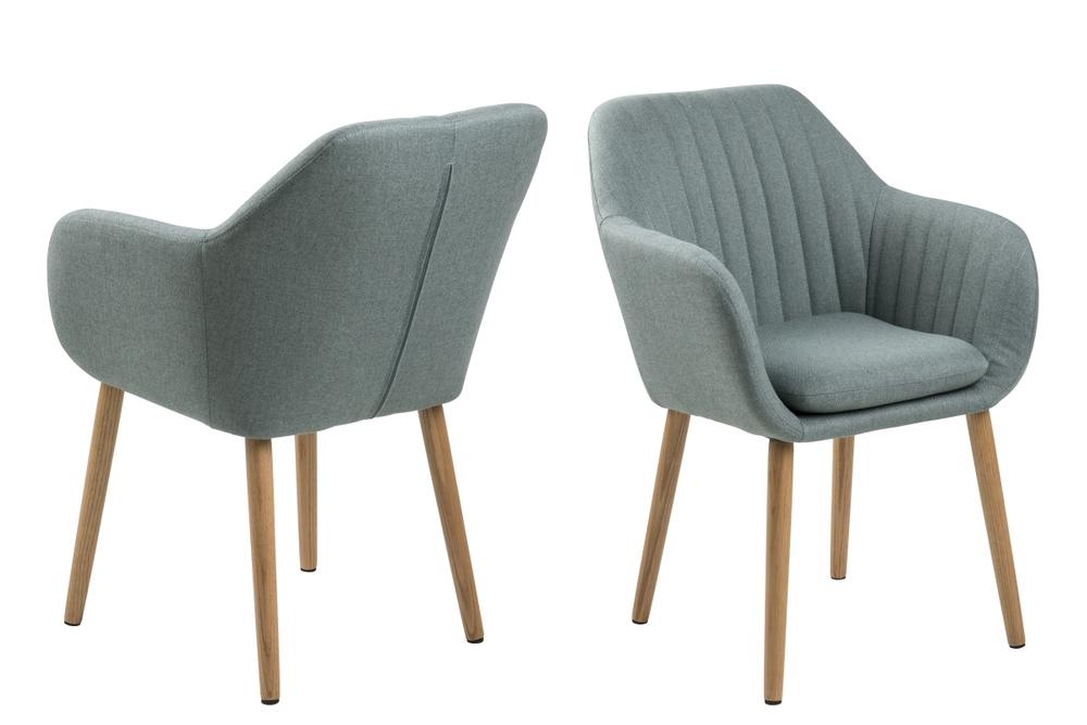 Designová židle Nashira olivová