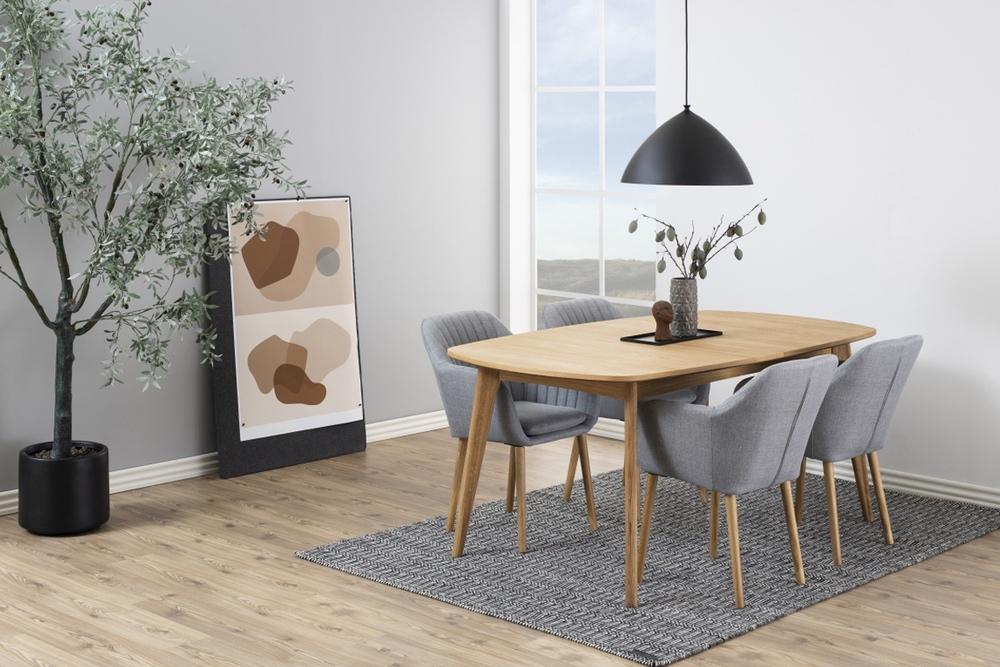 Designové židle Nashira II světle šedá
