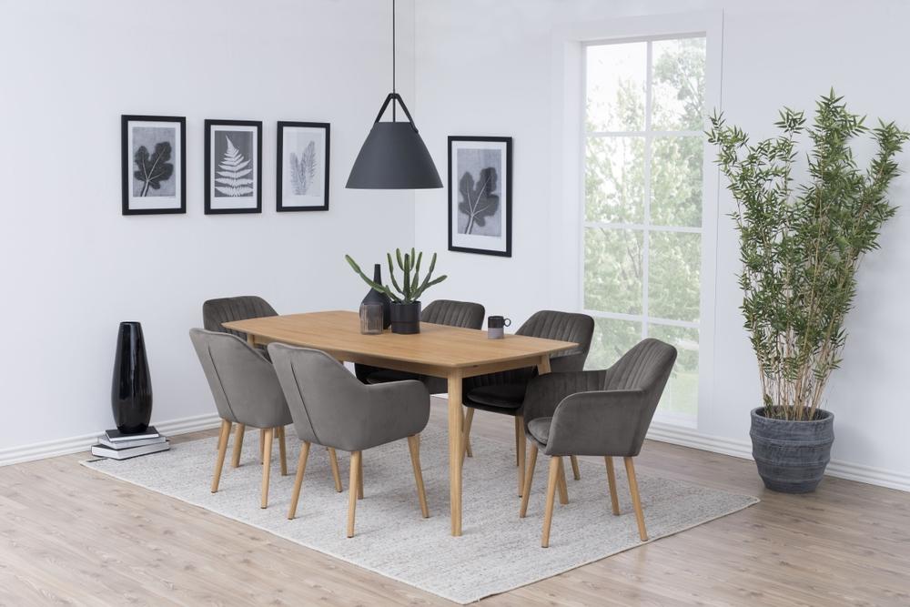 Designové židle Nashira tmavě šedá VIC - Skladem (RP)