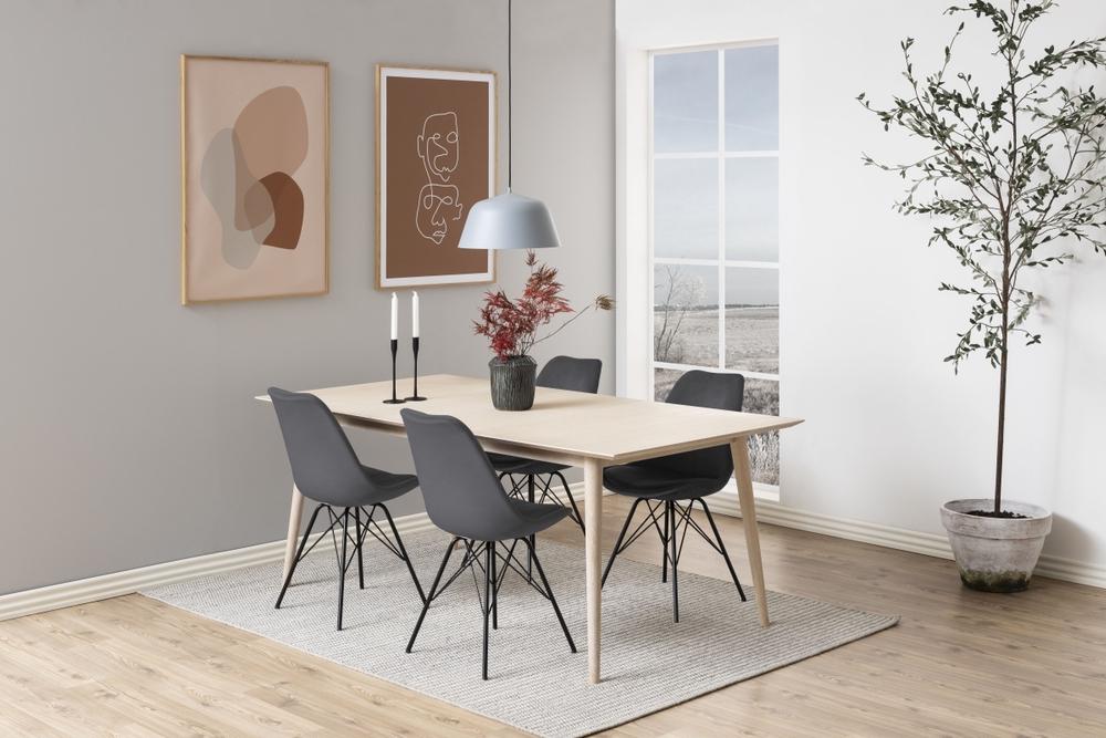 Designová židle Nasia tmavě šedá