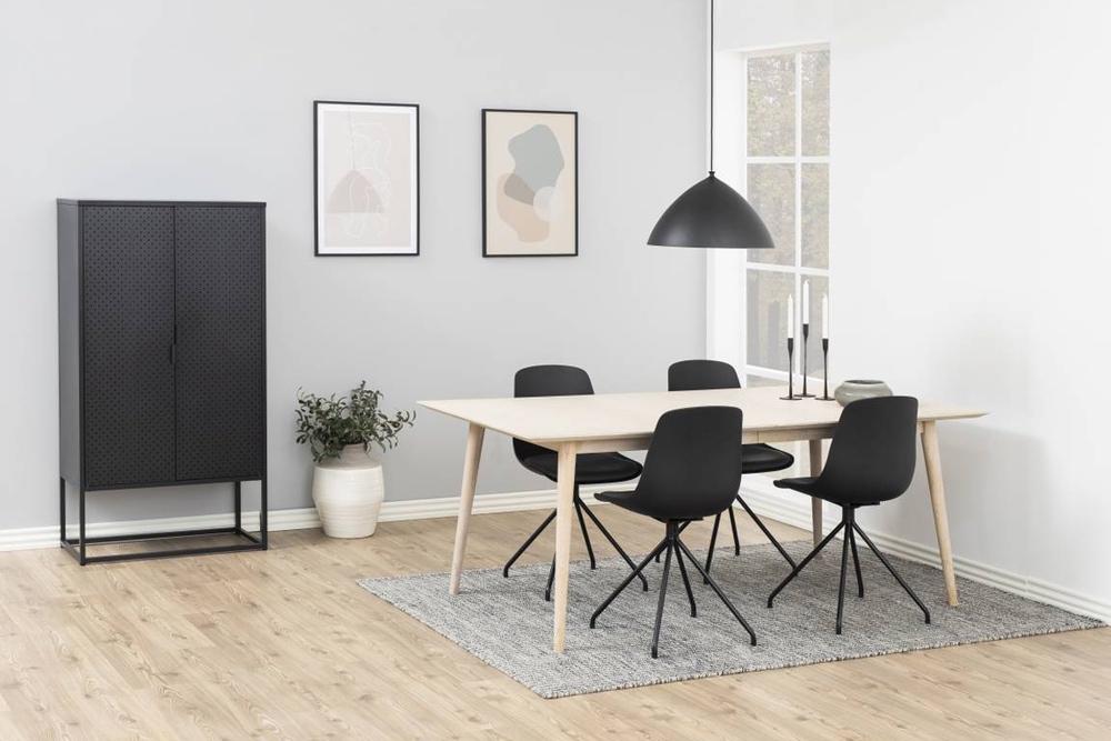 Designová židle Nemy černá