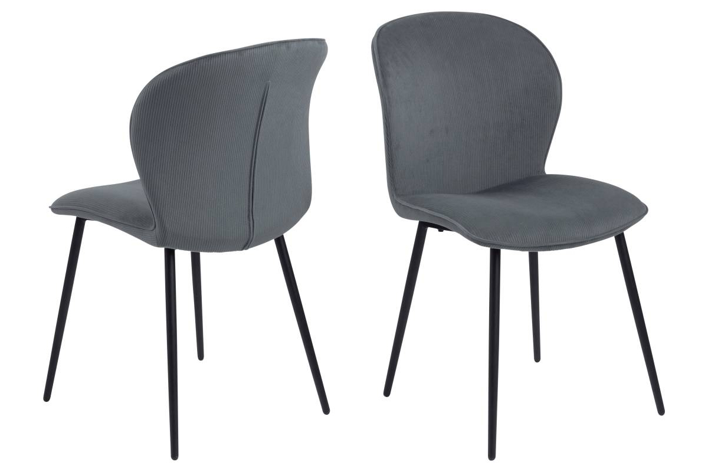 Designová židle Nenitte šedá
