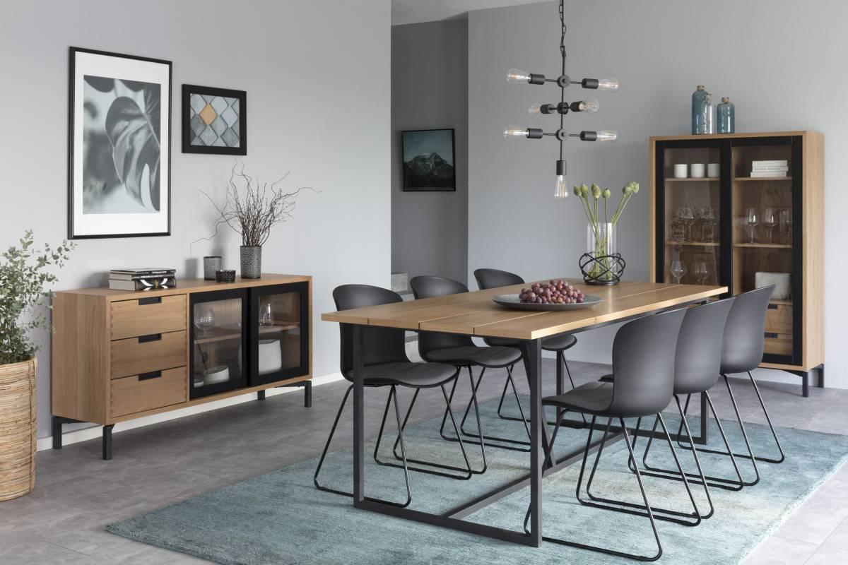 Designová židle Nerilla černá