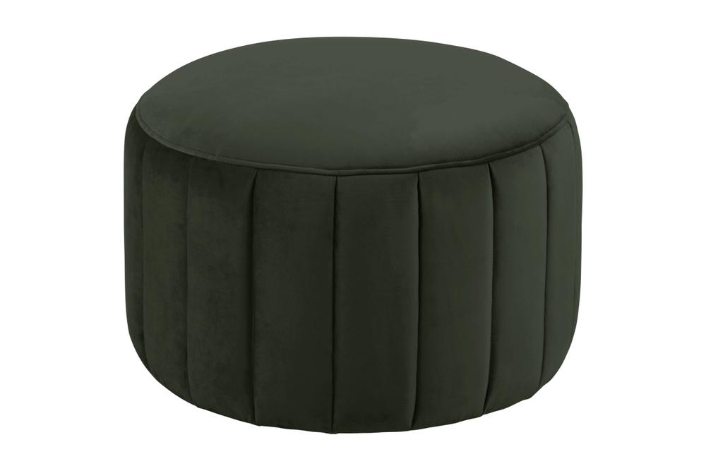 Designová taburetka Naomika tmavě zelená