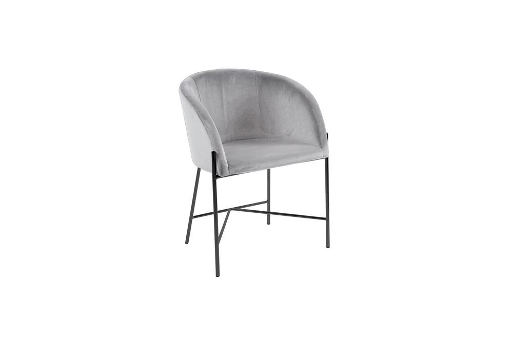 Designové křeslo Alliser šedé