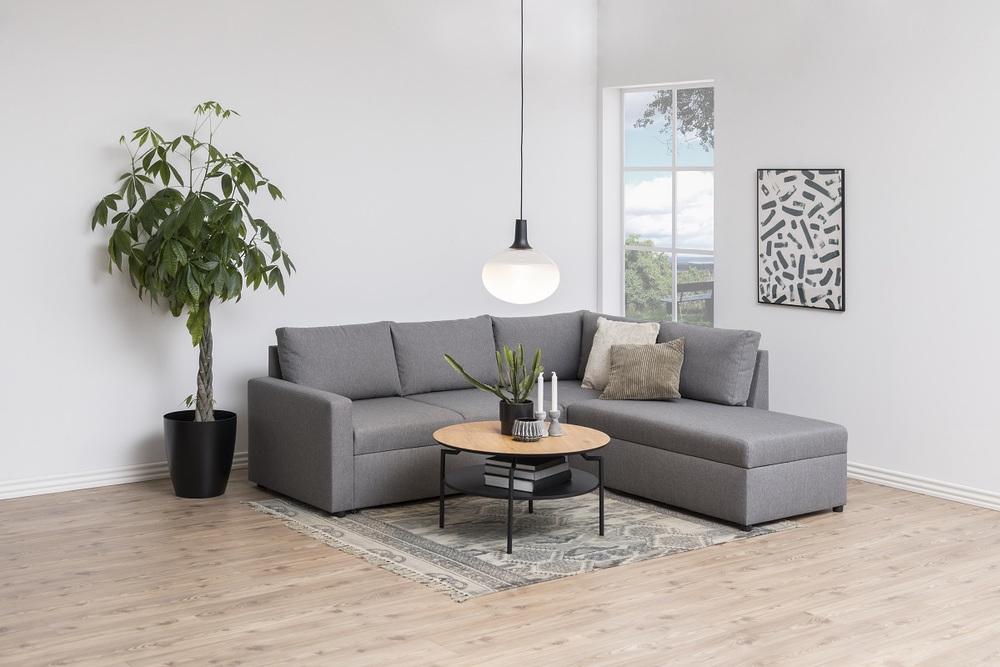 Designový konferenční stolek Aitor divoký dub