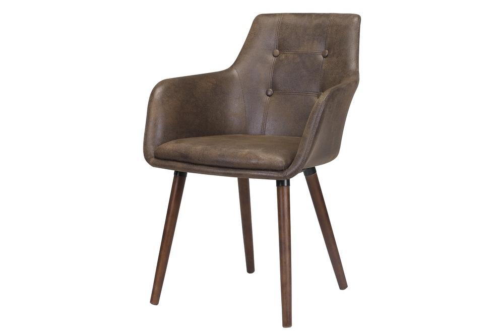 Elegantní židle Albie hnědá