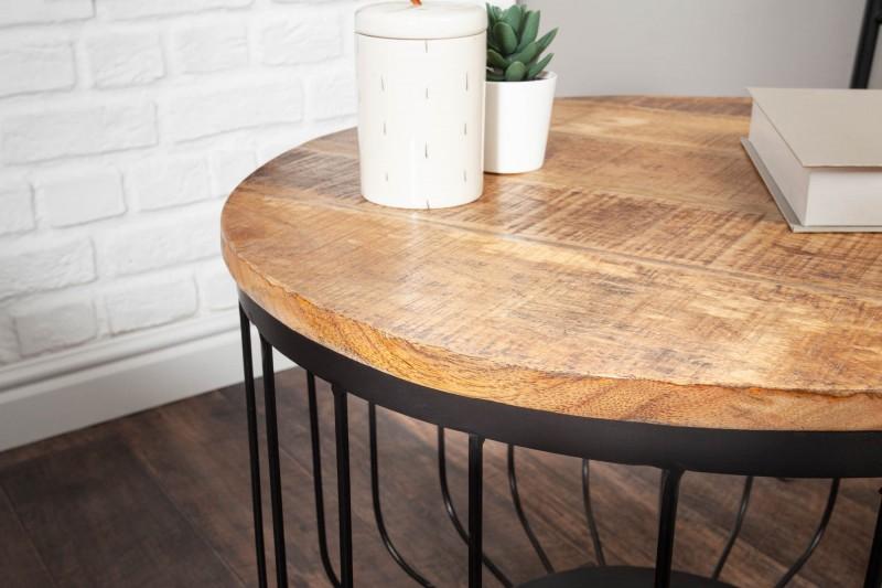 Konferenční stolek Unity Loft 56cm mango