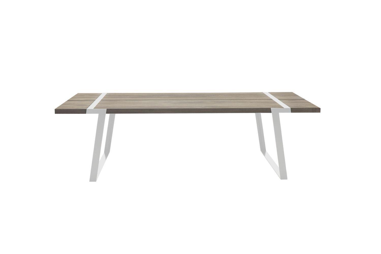 Jídelní stůl Annie 240 - 360 cm / bílá