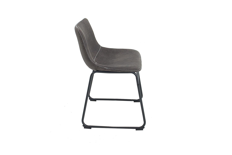 Designová židle Alba / vintage šedá