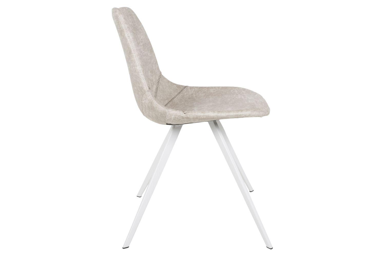 Designová jídelní židle Lucy II / bílá