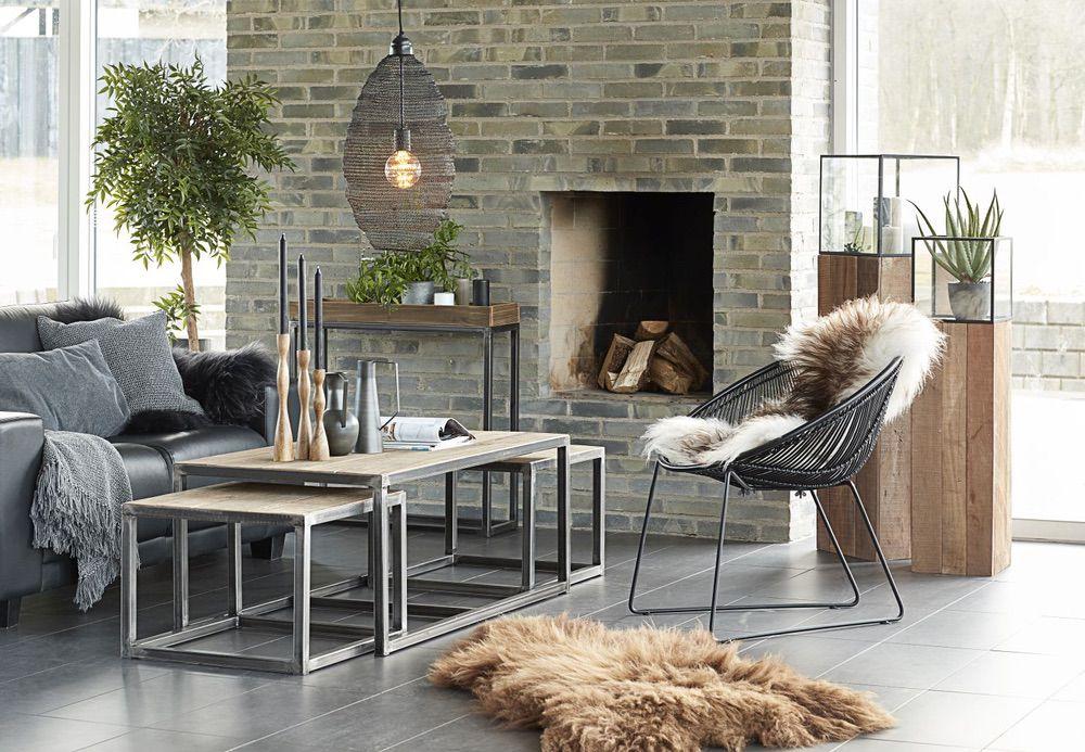 Designová židle Lenny / černá
