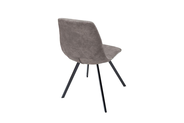 Designové židle Rotterdam Retro / šedo-hnědá