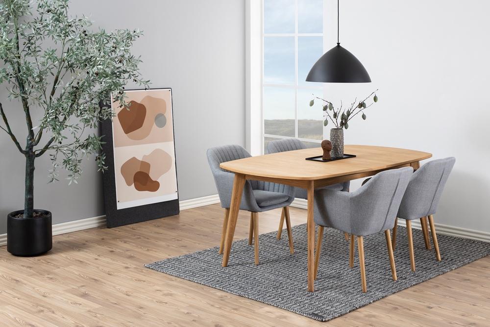 Jídelní stůl Nahla 180 cm dub
