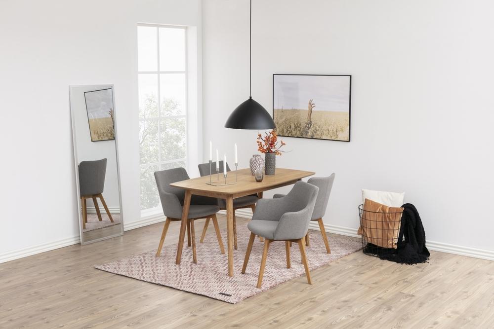 Jídelní stůl Naiara 150 cm dub - II. třída