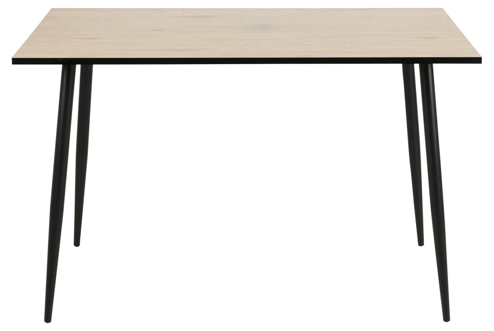 Jídelní stůl Nayeli 120 cm divoký dub bílý