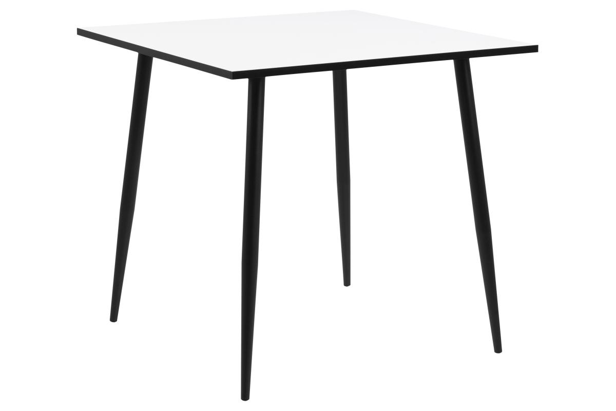 Jídelní stůl Nayeli 80 cm bílý