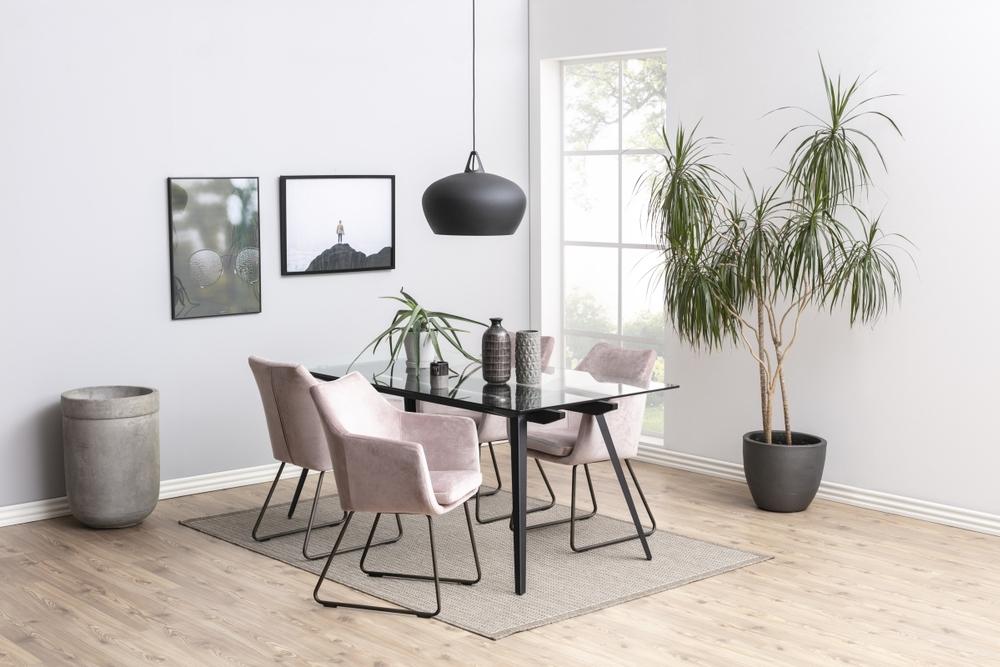 Jídelní stůl Neima 180 cm sklo - otevřené balení