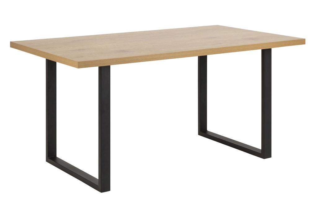 Jídelní stůl Niki 160 cm divoký dub U nohy