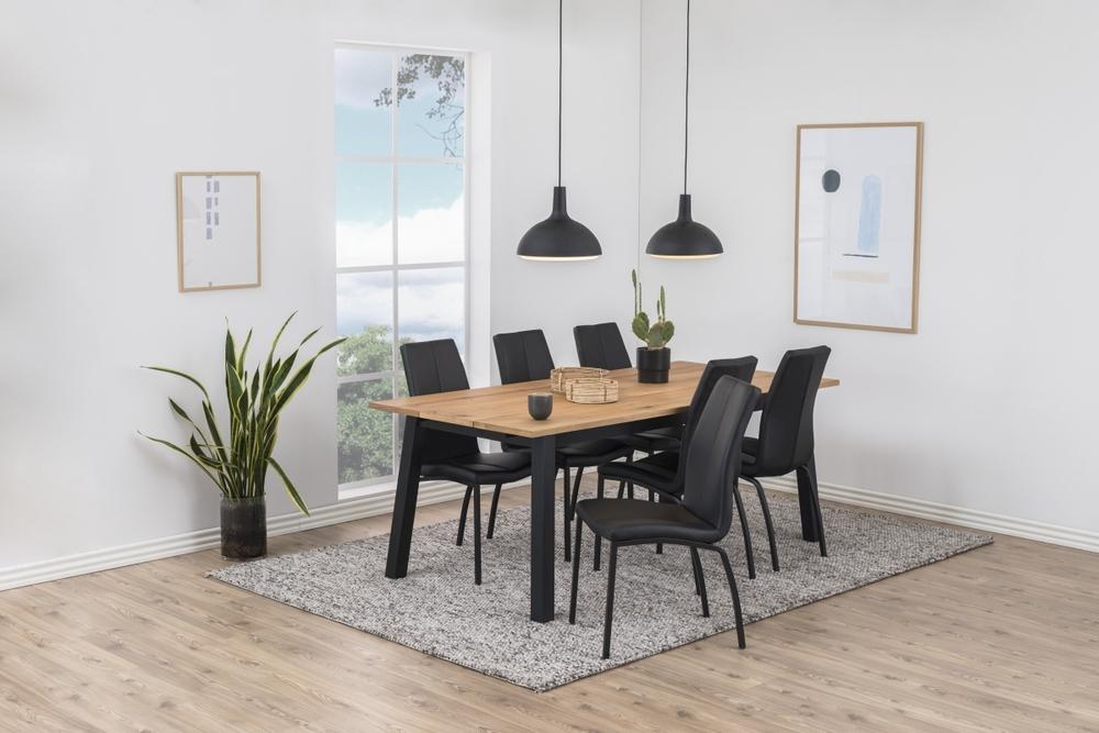 Jídelní stůl rozkládací Nadida 200/290 cm dýhové desky