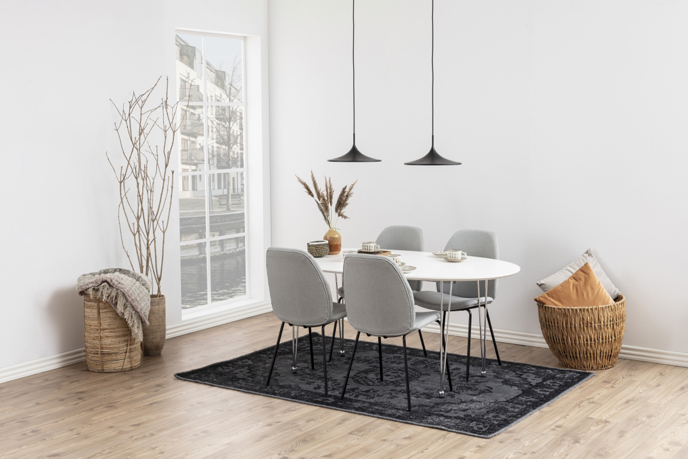 Jídelní stůl rozkládací Neala 170/270 cm bílý