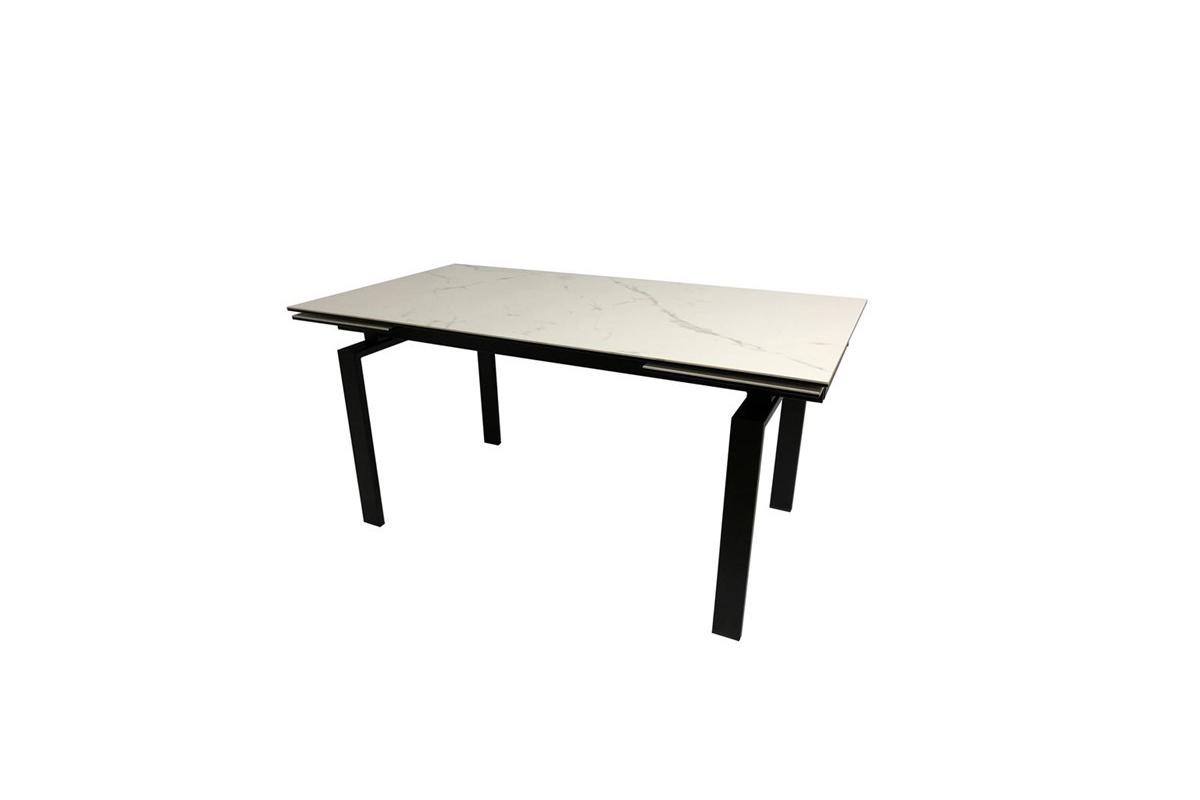 Jídelní stůl rozkládací Neema 120/200 cm sklo