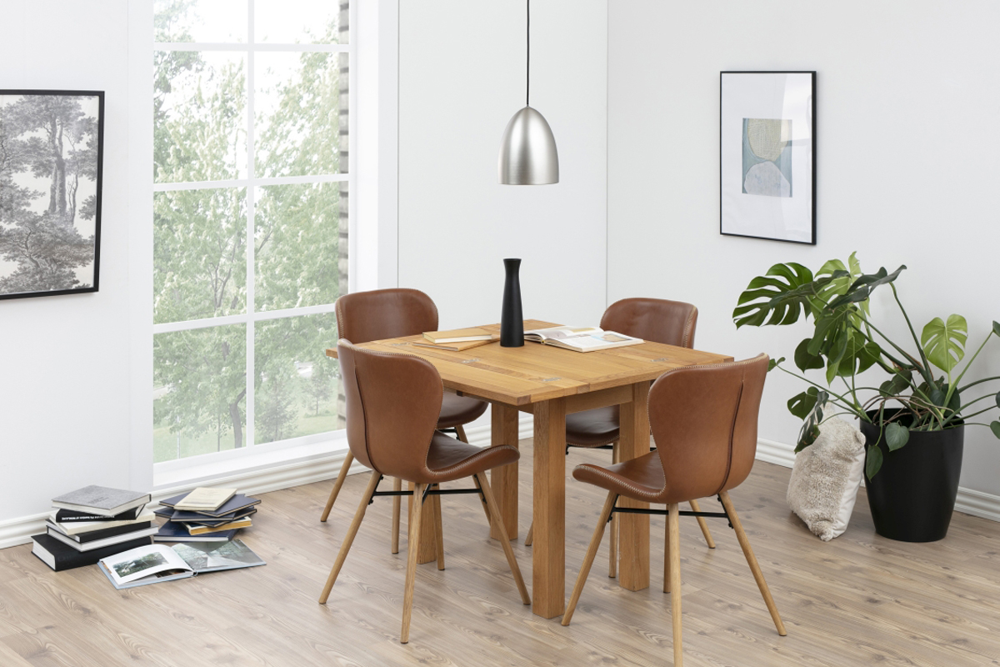 Jídelní stůl rozkládací Nehama 45/90 cm dub