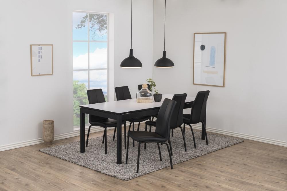 Jídelní stůl rozkládací Nico 215/315 cm bílý