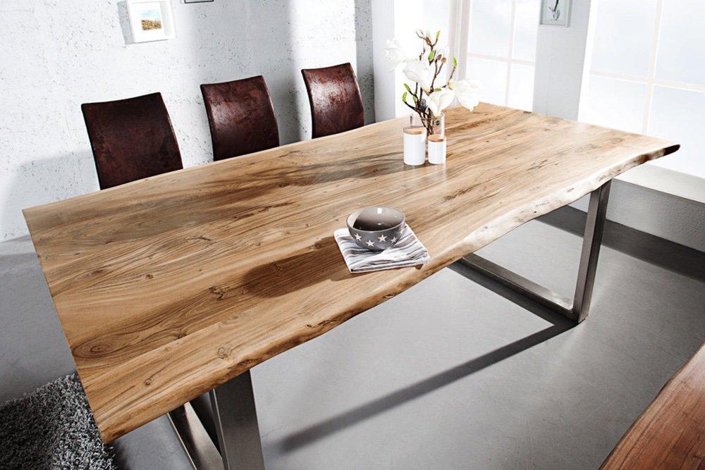 Jídelní stůl Massive Honey 160 cm - tloušťka 35 mm - akácie