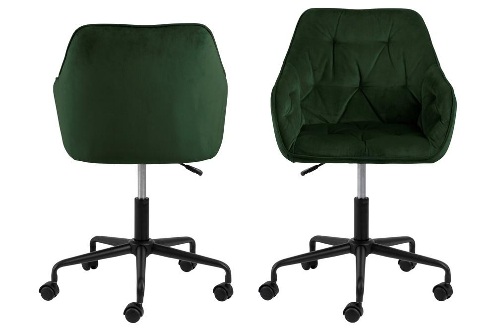 Kancelářská židle Alarik zelená
