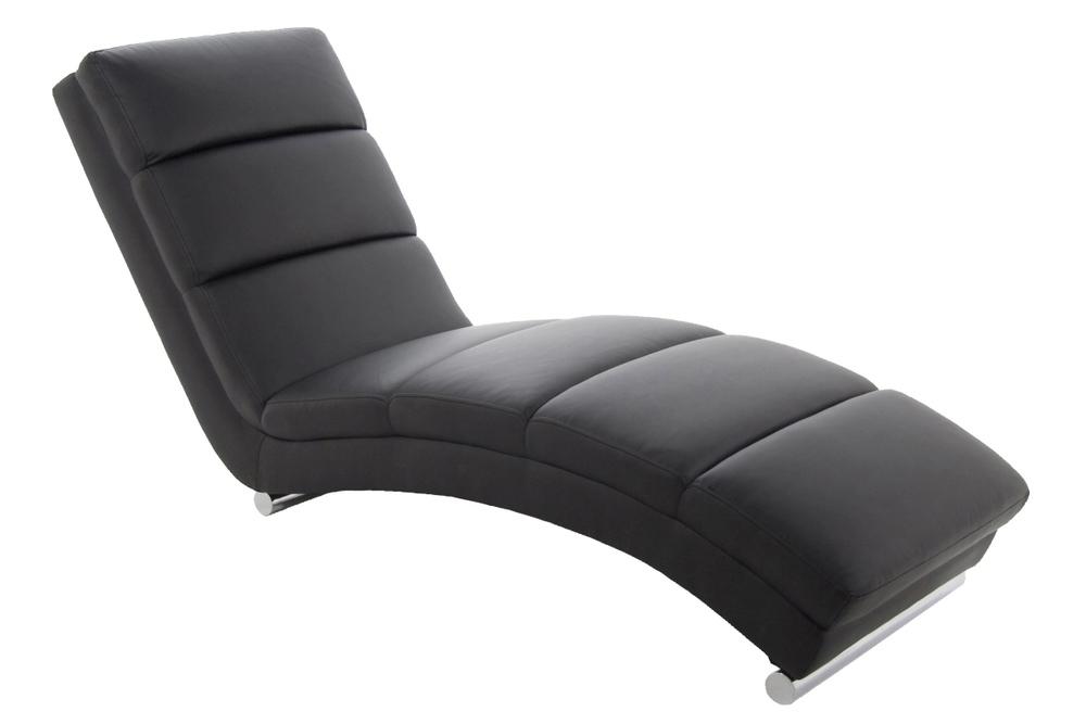 Luxusní relaxační křeslo Nana černé - Skladem (RP)