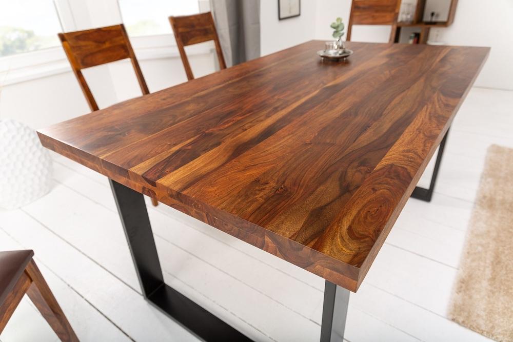 Luxusní jídelní stůl Palace II 200 cm Sheesham
