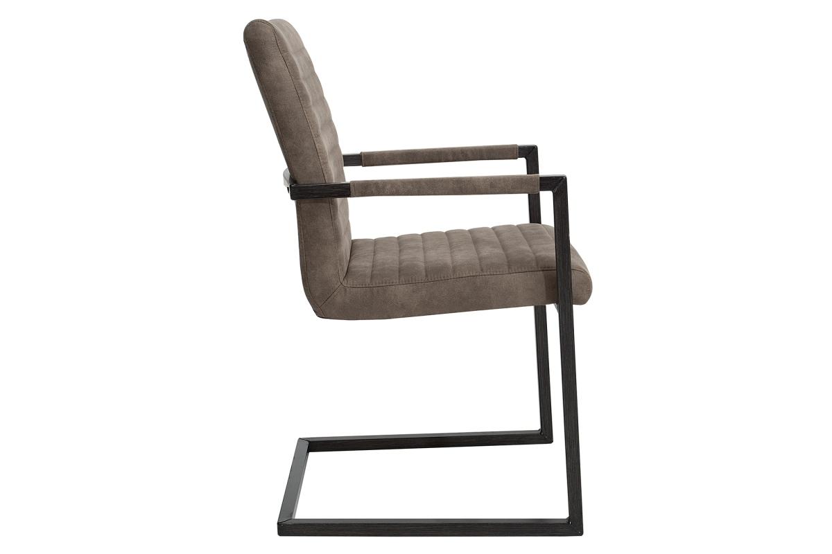 Židle Imperium Antik hnědá taupe