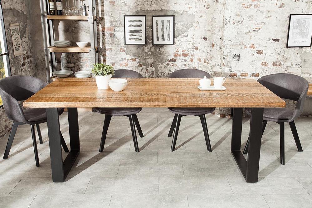 Jídelní stůl Thunder 180 cm mango