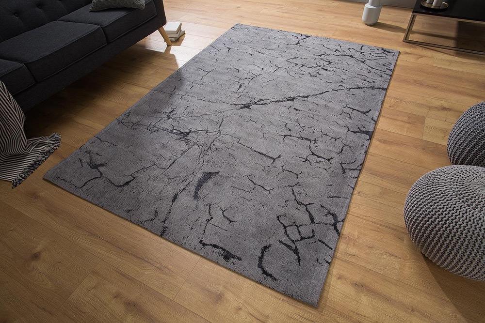 Designový koberec Cohen 240x160 šedý