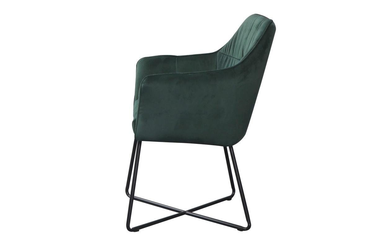 Designové křeslo Giuliana zelené
