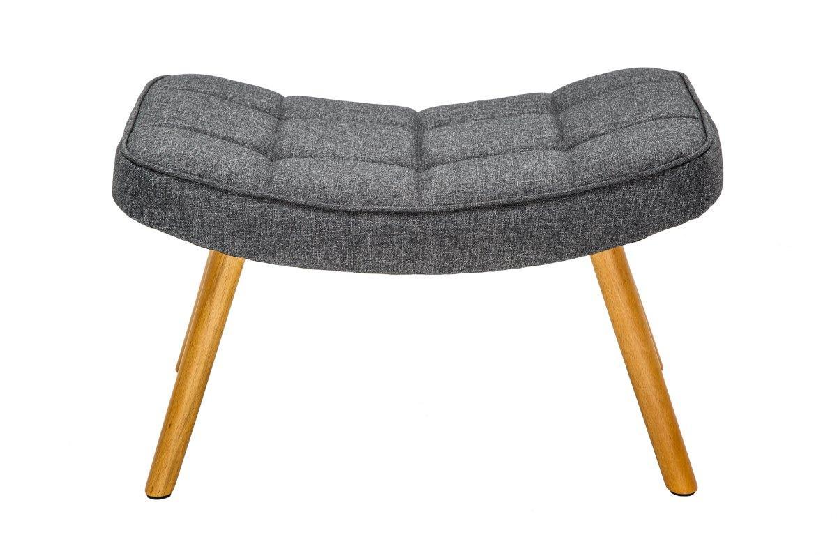 Designová podnožka Sweden, šedá - II. třída