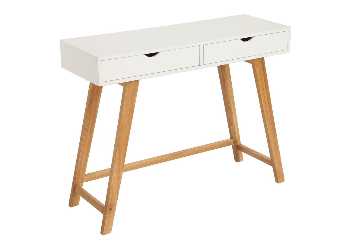 Designová konzola Sweden, 100 cm, bílá - II. třída