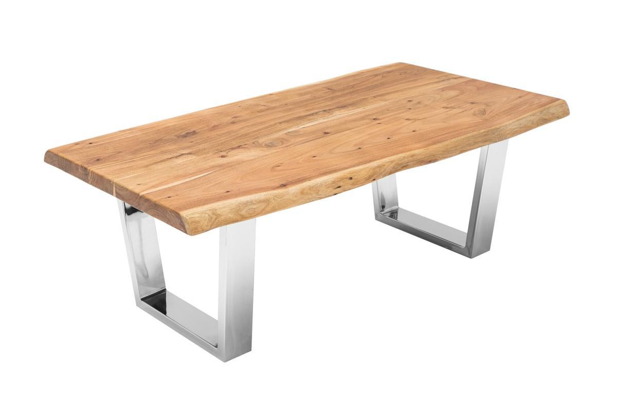 Designový konferenční stolek Massive, 110 cm, akácie