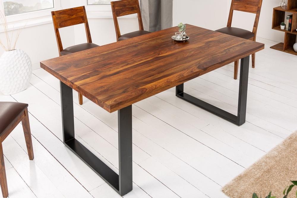 Designový jídelní stůl Thunder 160 cm sheesham