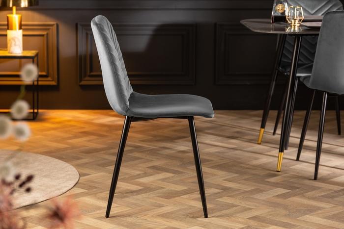 Designová stolička Argentinas šedá
