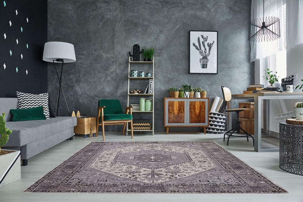 Designový koberec Hertz 240x160cm / šedá