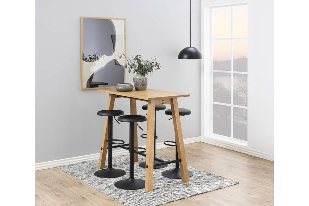 Moderní barová židle Nenna černá