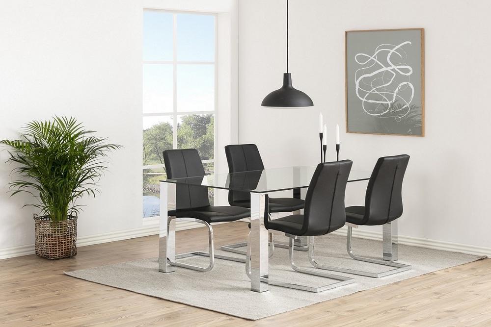 Moderní židle Alcwin černá