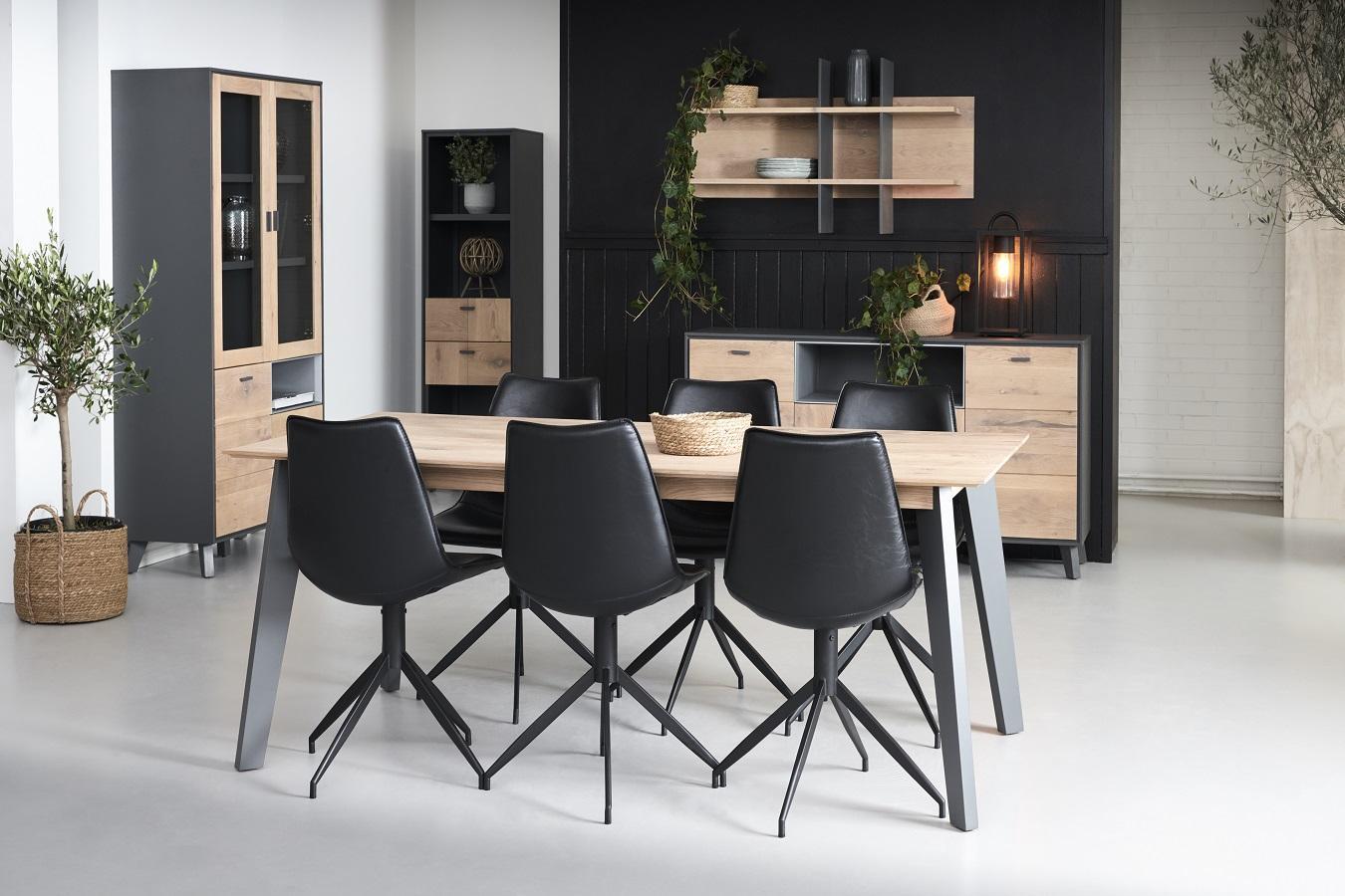 Moderní jídelní stůl rozkládací Aakil, 200 - 300cm